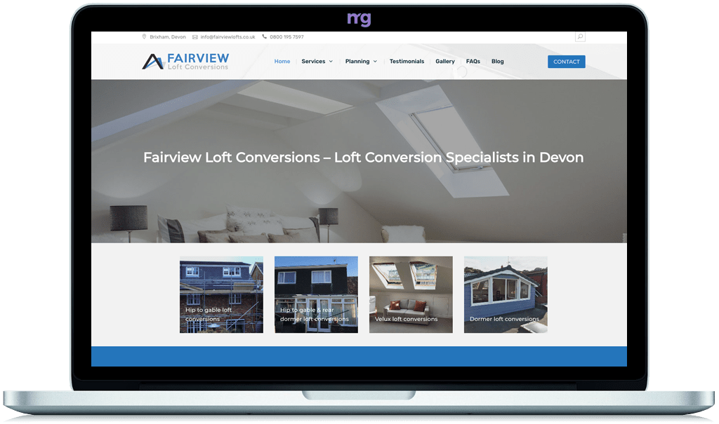 Website designers in South Devon